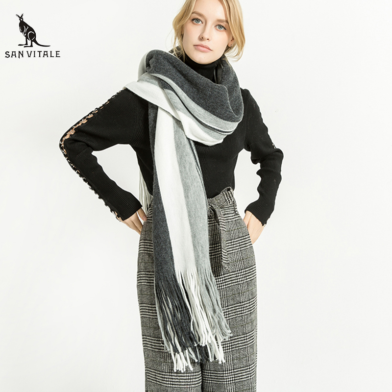 Scarves For Women Scarf Gift Cape Winter Designer Famous Brand Casual Clothing Accessories Apparel Clothing Winter Warm Cashmere