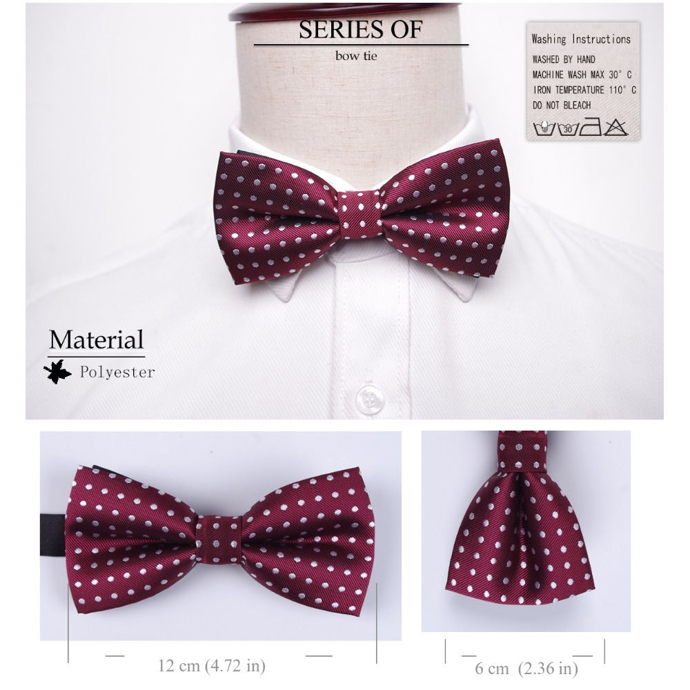 Bowtie men formal necktie boy Men's Fashion business wedding bow tie Male Dress Shirt krawatte legame gift 1