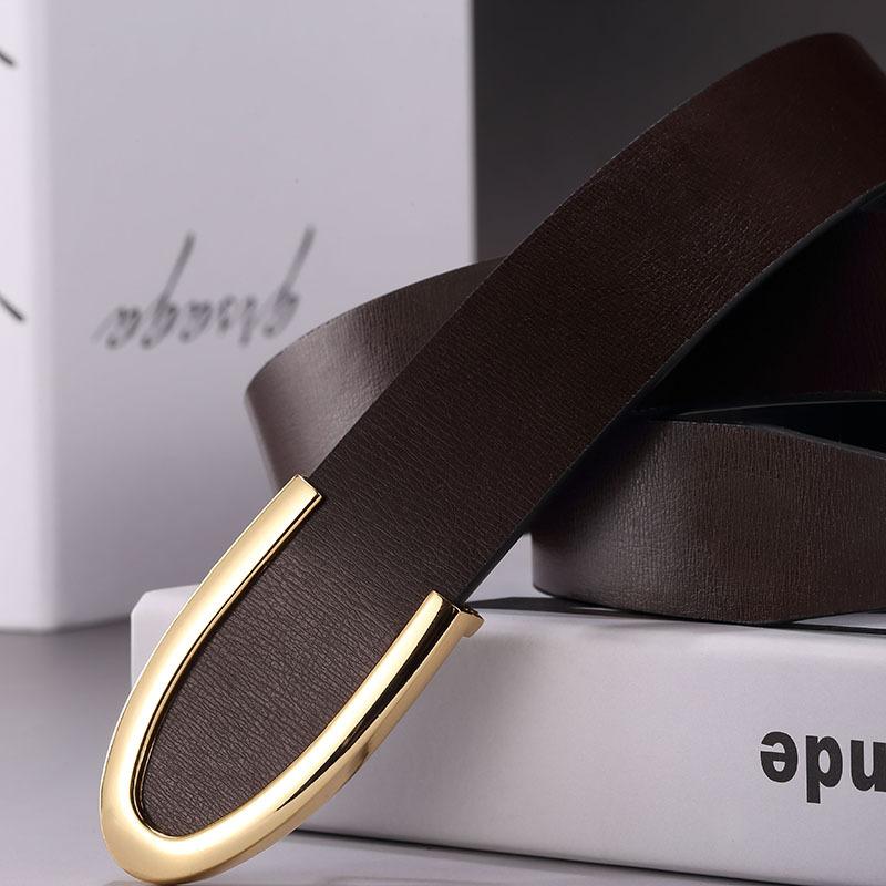 2017 mens belts luxury designer belts men high quality fashion leather belts gold buckle style Brand men strap Cintos Cinturon 1