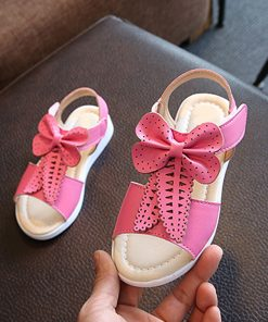 Girls leather party shoes PU Leather bowknot Princess toddler Girls Casual Shoes Girl Sweet Princess Shoes Baby Dance Shoes 1