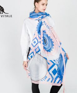 Scarves Women's Scarf Spring Warm Chiffon Shawl Hijab Fashion Luxury Brand Palestine Cashmere Plaid Pashmina For Dress Silk