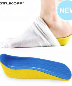 Height Increase Elevator Shoes Insole 2.0 cm Lift Taller In Sock Arch Support PU Pads Elevator For Women And Men Shoes Foot Care