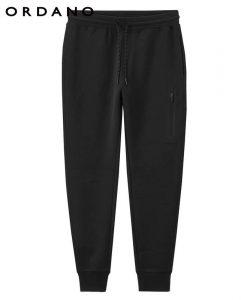 Giordano Men Interlock Jogger Pants Zip Pocket Sweatpants Men Elastic Waistband Casual Pants Pantalon Hombre 1