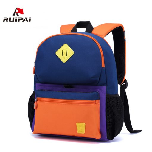 RUIPAI Nylon Children Backpacks Orthopedic School Bags for Children Primary School  for Girls Boys Kid kindergarten Backpacks 1