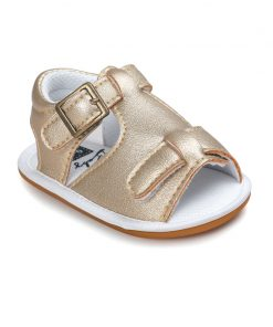 2018 New Spring Solid Cute hard rubber Baby moccasins child Summer boys sandals pu leather Infant Fabric shoes baby sandals 1