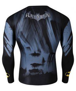 Men Compression Shirt Batman VS Superman 3D Printed T-Shirts Long Sleeve Tights Crossfit Quick Dry Costume 1