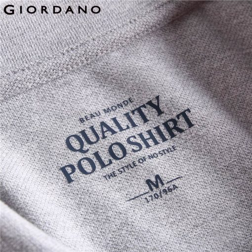 Giordano Men Polo Shirt Men Napoleon Embroidery Polo Homme Pattern Polo Camisa Shirt Masculina New Arrival Polo Shirts Male 5