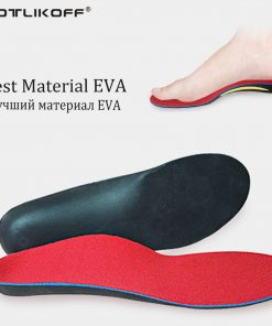 KOTLIKOFF Orthopedic Insoles Doctors recommend Best Material EVA Orthotic Insole Flat Feet Arch Support Orthopedic shoes pad 1