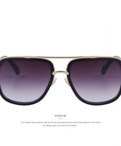 MERRY'S Fashion Men Sunglasses Classic Women Brand Designer Metal Square Sun glasses UV400 1