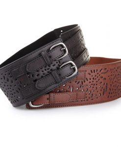 Belt For Women Belts Leather Gift Straps Ratchet High Quality Large Size Designer Casual Clothing Accessories Apparel 1