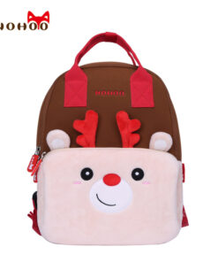 NOHOO Kids Children Backpack Kindergarten Pretty Cartoon Toddler Baby School Bags Gift for Girls School Bags for 3-6 Years Old