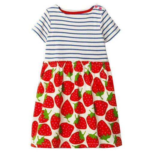 A-Line Girl Dresses Princess Costume 2018 Brand Baby Girl Dress Summer Costume for Kids Clothes Vestidos Children Birthday Dress 2