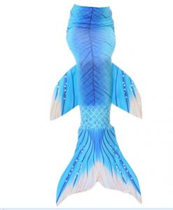 Girl Swimming Mermaid Tails Cosplay Costume Children Swimmable Mermaid Tail Costume Kids Without Monofin One Piece Tail Only 1