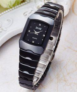 DALISHI Top Brand Lady Quartz Ceramic Watch Simple Women Fashion Dress wristwatch Famale Business Charm Clock Zegarki Damskie