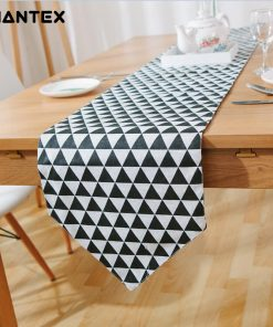 GIANTEX European Style Print Cotton Linen Table Runner Home Decor U1420