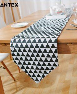 GIANTEX European Style Print Cotton Linen Table Runner Home Decor U1420
