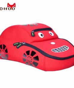 NOHOO Waterproof School Bags for Teenagers Car Pattern Fashion Children Backpack Large Capacity Kids Backpack School for Boy