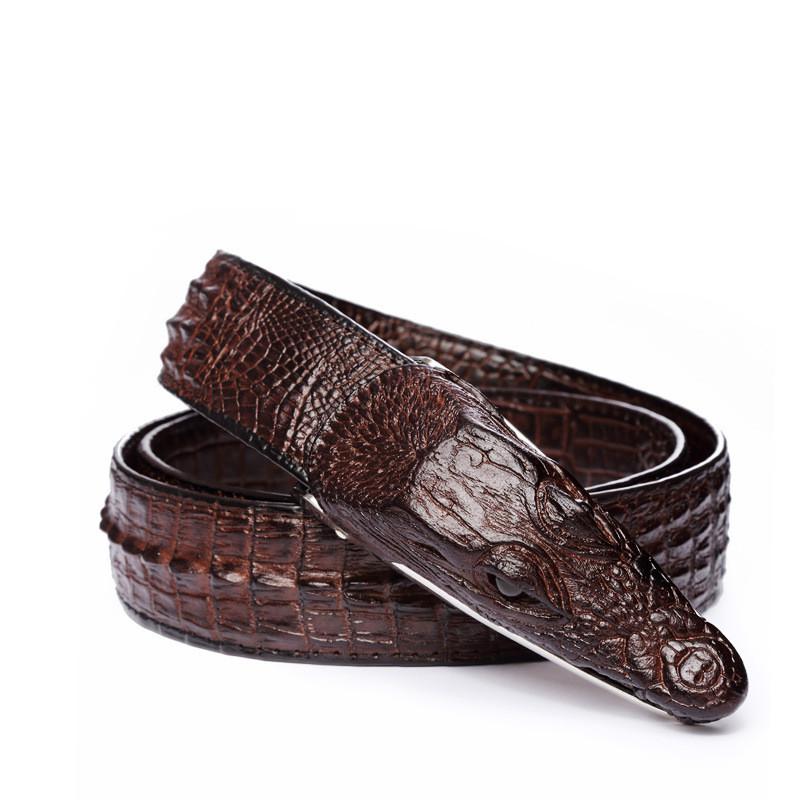 Mens Belts Luxury cow Leather Designer Belt Men High Quality Ceinture Homme Cinto Masculino Luxo Crocodile Cinturones Hombre 1