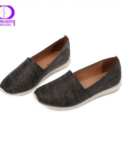 AIMEIGAO Spring Autumn Slip on Loafers Flats Shoes Women Comfortable light Women Shoes Round Toe Female Casual Shoes 36-41 1