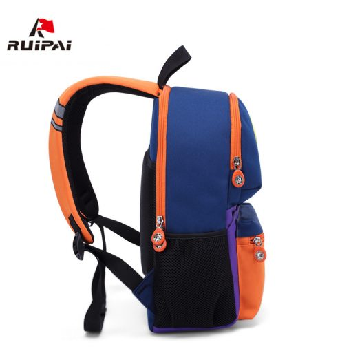 RUIPAI Nylon Children Backpacks Orthopedic School Bags for Children Primary School  for Girls Boys Kid kindergarten Backpacks 3