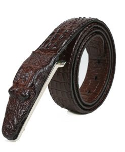 Crocodile Belts for Men Cowhide Genuine Leather Luxury Brand Strap Male Buckle Belt Fancy Vintage for Jeans Cintos Dropshipping 1