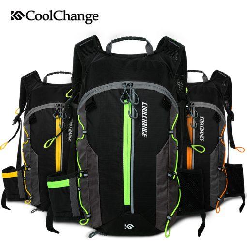 CoolChange Bike Bag Ultralight Waterproof Sports Breathable Backpack Bicycle Bag Portable Folding Water Bag Cycling Backpack 5