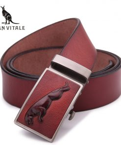 2018 new Brand men's fashion Luxury belts for men cowhide leather Belts for man designer automatic belt for jeans free shipping