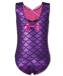 BAOHULU 3-12Y Kids Girls Swimsuit One Piece Baby Bikini Swimwear Children Mermaid Bathing Suit Swimming Dress for Girl Beachwear 1
