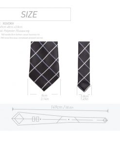 20 style Formal ties business vestidos wedding Classic Men's tie stripe grid 8cm corbatas dress Fashion Accessories men necktie  1