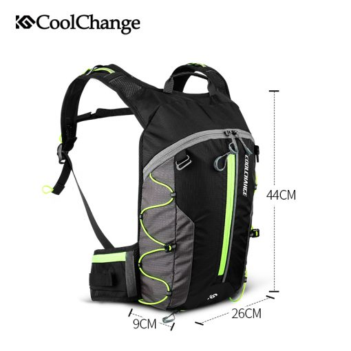 CoolChange Bike Bag Ultralight Waterproof Sports Breathable Backpack Bicycle Bag Portable Folding Water Bag Cycling Backpack 4