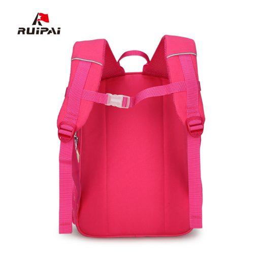 RUIPAI 2017 Canvas Backpack For Teenage Girls School Bags Boys Rucksack Back Pack Canvas Cartoon Printing Backpack For Children 4
