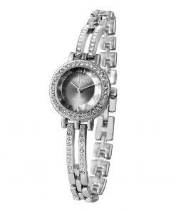 Time100 Women's Quartz Watches Skeleton Alloy Bracelet  Irregular Diamond Dial Ladies Wrist Watches For Women relojes mujer 1