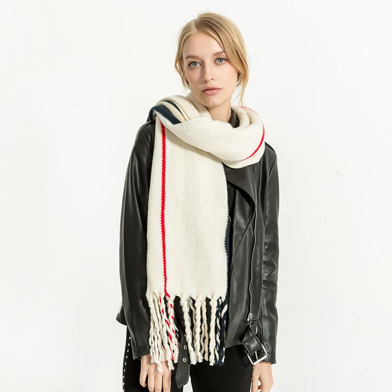 Scarves Women'S Scarf Winter Warm Palestine Shawl Chiffon Luxury Brand Fashionable Cashmere Plaid Pashmina For Dress Scarfs 1