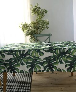 GIANTEX Pastoral Style Decorative Table Cloth Cotton Tablecloth Dining Table Cover For Kitchen Home Decor U1256 1