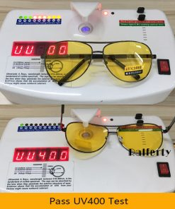 Ralferty Yellow Polarized Sunglasses Men Women Night Vision Goggles Driving Glasses Driver Aviation Polaroid Sun Glasses UV400 1