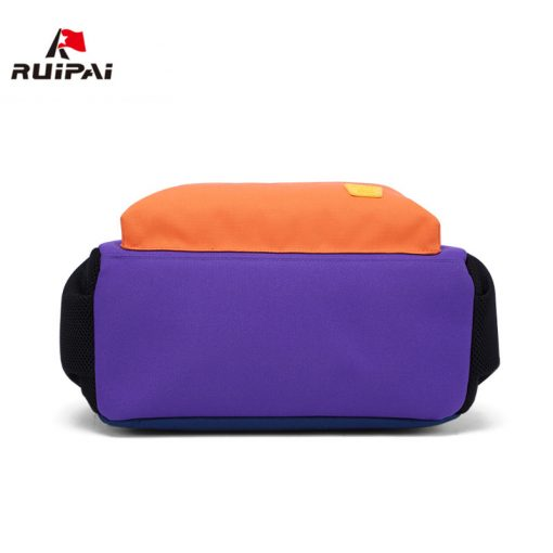 RUIPAI Nylon Children Backpacks Orthopedic School Bags for Children Primary School  for Girls Boys Kid kindergarten Backpacks 4