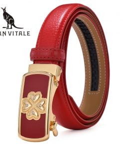 Women's belts genuine leather designer High quality belt women luxury straps fashion automatic reversible waistband for Dress