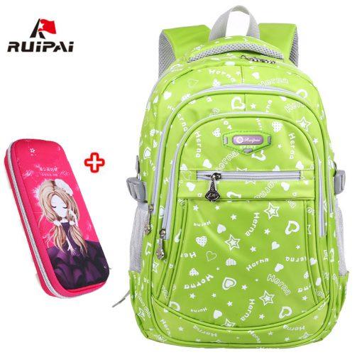 RUIPAI 2017 Oxford School Bags for Teenage Girls Waterproof Women School Backpack Fashion Student Book Bag Children Backpacks 1