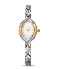 TIME100 Women Watch Quartz simple style Gold Silver watch Crystal Dial Rhinestone Alloy Strap Women Watches relogio feminino 1
