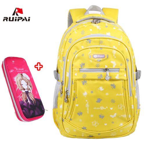 RUIPAI 2017 Oxford School Bags for Teenage Girls Waterproof Women School Backpack Fashion Student Book Bag Children Backpacks 3