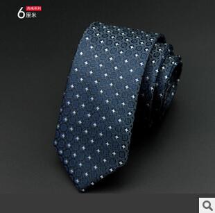 GUSLESON 1200 Needles 6cm Mens Ties New Man Fashion Dot Neckties Corbatas Gravata Jacquard Slim Tie Business Green Tie For Men 1