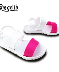 kids shoes Girls boys Jelly Sandals summer Princess Lovely Soft Comfort shoes Toddler Girl Kids Sandals Beach Sandals Kids