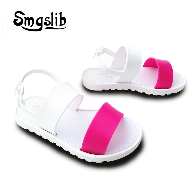 kids shoes Girls boys Jelly Sandals summer Princess Lovely Soft Comfort shoes Toddler Girl Kids Sandals Beach Sandals Kids