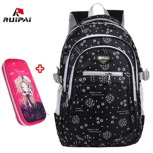 RUIPAI 2017 Oxford School Bags for Teenage Girls Waterproof Women School Backpack Fashion Student Book Bag Children Backpacks 4