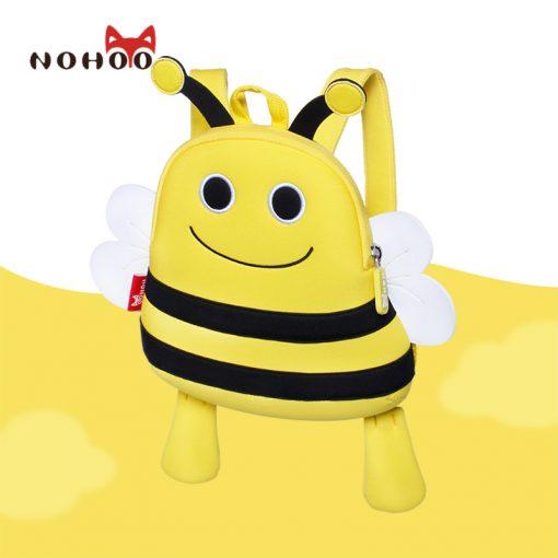 NOHOO 3D Cartoon Animals School Bags for Teenage Girls Waterproof Cute Children Backpacks Kids Baby School Backpack Bags 4