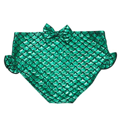 3Pcs Kids Girls Baby Fancy Cosplay Mermaid Tail Bikini Set Children Swimwear Swimsuit Swimming Bathing Suit Costume freeshipping 3