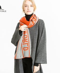 Scarves Women Scarf Winter Warm Thick Poncho Small Square Silk High Quality Christmas Clothes Designer Casual Clothing Apparel