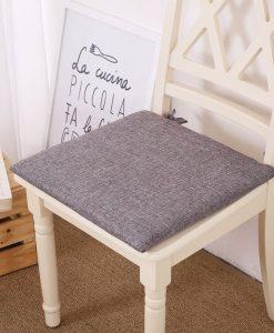 GIANTEX Japanese Style Simple Linen Solid Color Cushion Home Office Sofa Decor Chair Pad Seat Cushion Chair Cushion U1535 1
