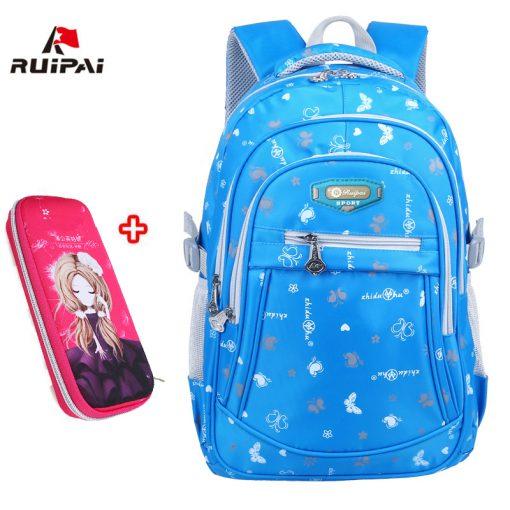 RUIPAI 2017 Oxford School Bags for Teenage Girls Waterproof Women School Backpack Fashion Student Book Bag Children Backpacks 2