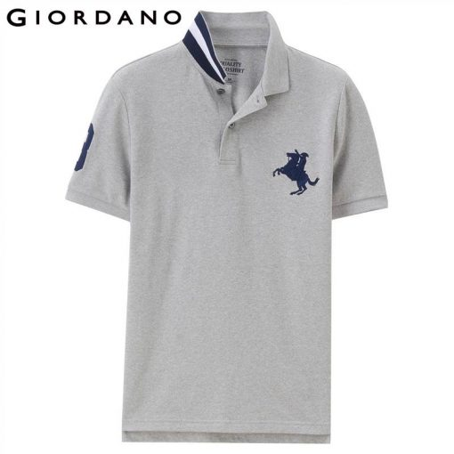 Giordano Men Polo Shirt Men Napoleon Embroidery Polo Homme Pattern Polo Camisa Shirt Masculina New Arrival Polo Shirts Male 1